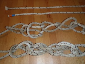 Test rope setup